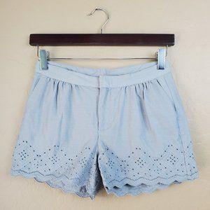 🌻 GAP Girls Gray Eyelet Shorts